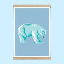 Poster - Polar bear